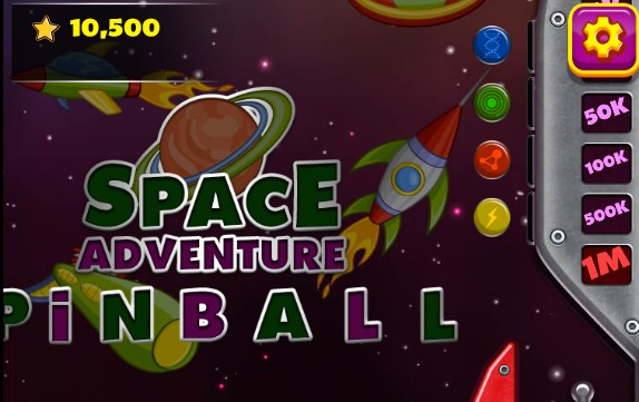 Image Space Adventure Pinball
