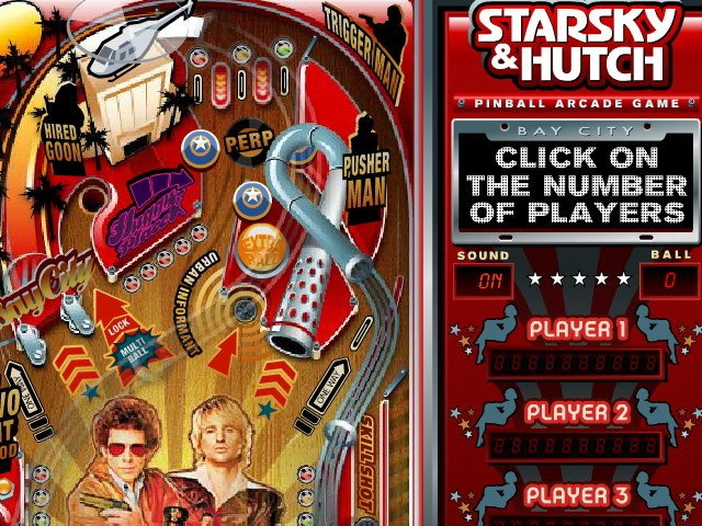 Image Starsky and Hutch Pinball